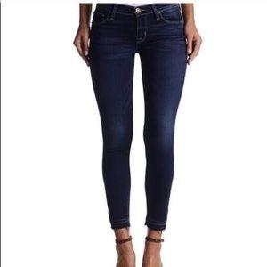 Hudson Krista Crop Super Skinny Jeans size 24